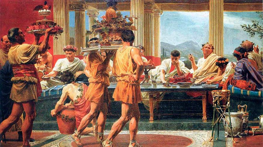 Cocina griega or genes y caracter sticas sabor de grecia - Le 12 tavole romane ...