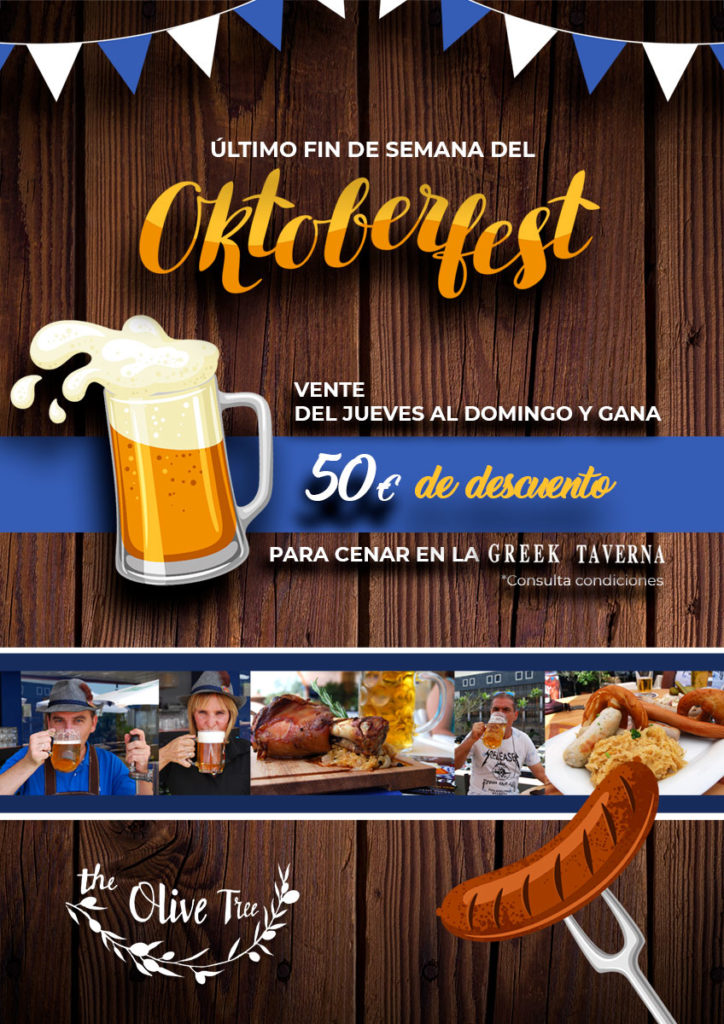 Sorteo Oktobertfest Greek Taverna The Olive tree